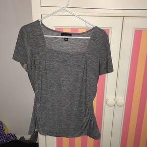 Light/dark Gray AB Studio shirt